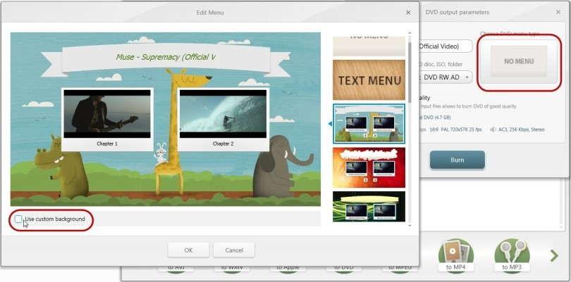 """Avvia lo strumento e fai clic sul menu Region del pannello nella parte superiore del software. Seleziona l'opzione """"Full Screen""""."""