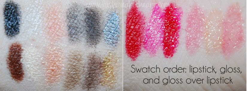 one direction swatches makeup kits markwins