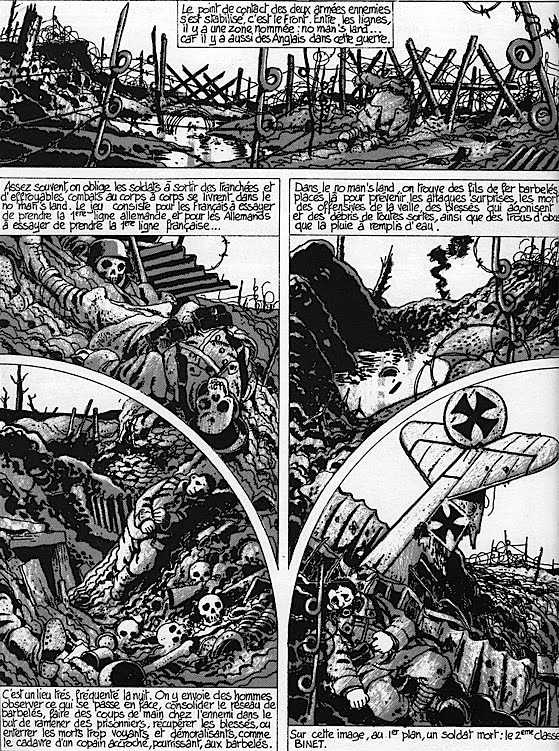 Cétait la guerre des tranchées 1914 1918 cartonné Jacques Tardi