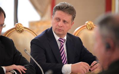 Transport Minister Maxim Sokolov.