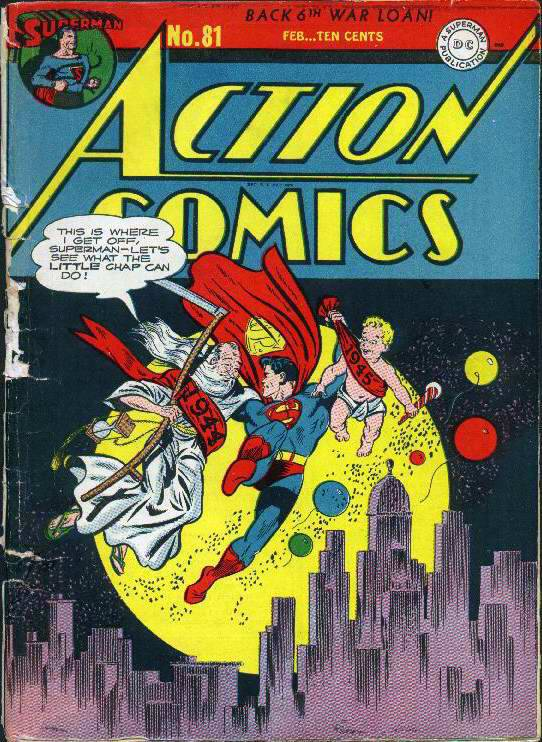 Read online Action Comics (1938) comic -  Issue #81 - 1