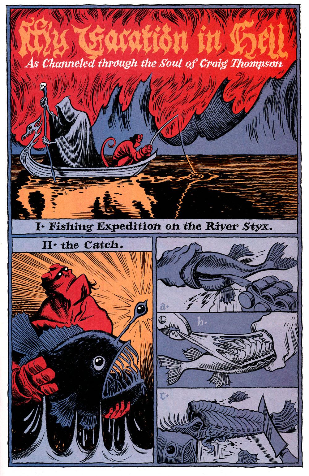 Read online Hellboy: Weird Tales comic -  Issue #6 - 17