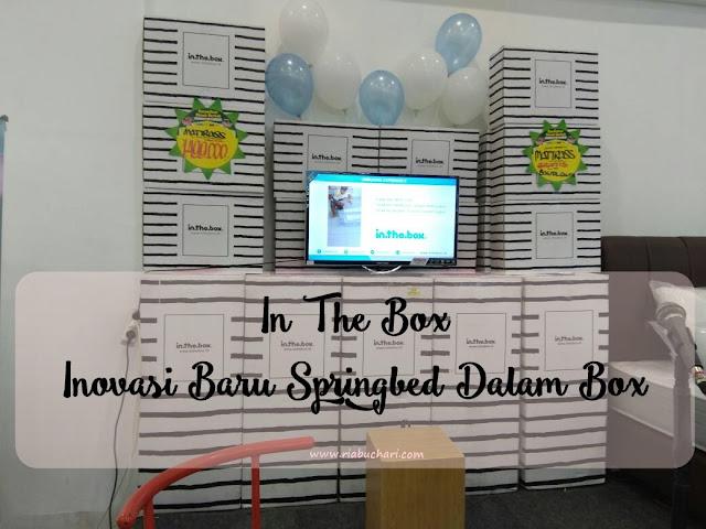 In The Box, Inovasi Baru Springbed Dalam Box