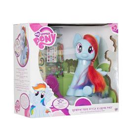 MLP Groom & Style Pony Rainbow Dash Figure by HTI