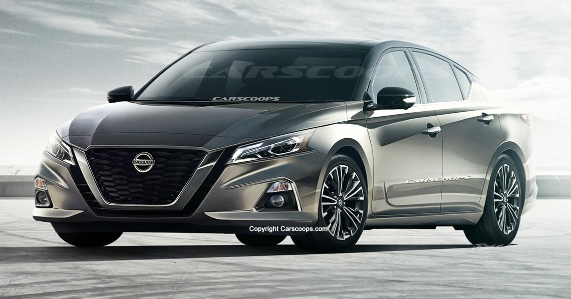 future cars 2019 nissan altima brings the visual punch. Black Bedroom Furniture Sets. Home Design Ideas