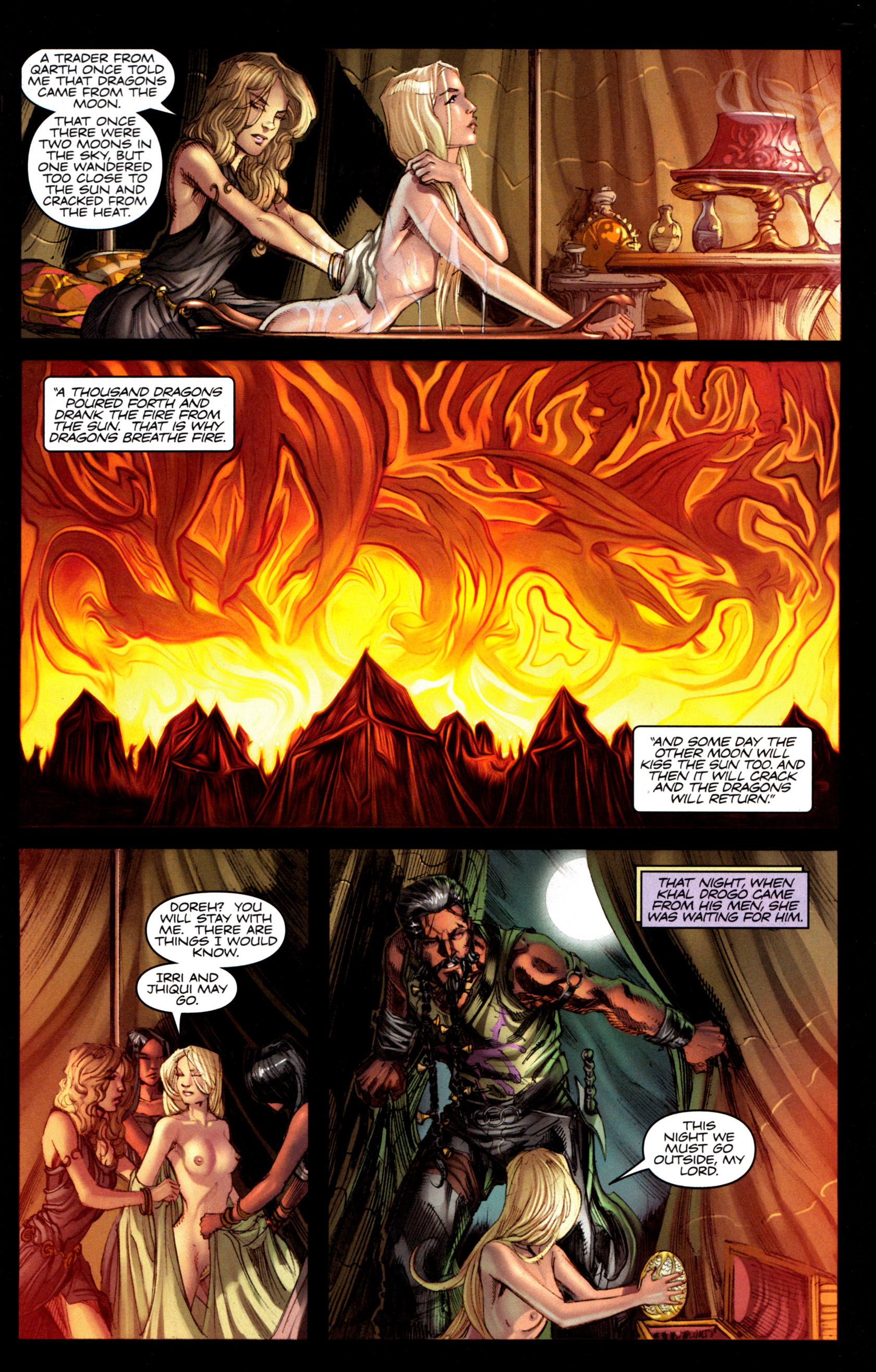Read online A Game Of Thrones comic -  Issue #6 - 29