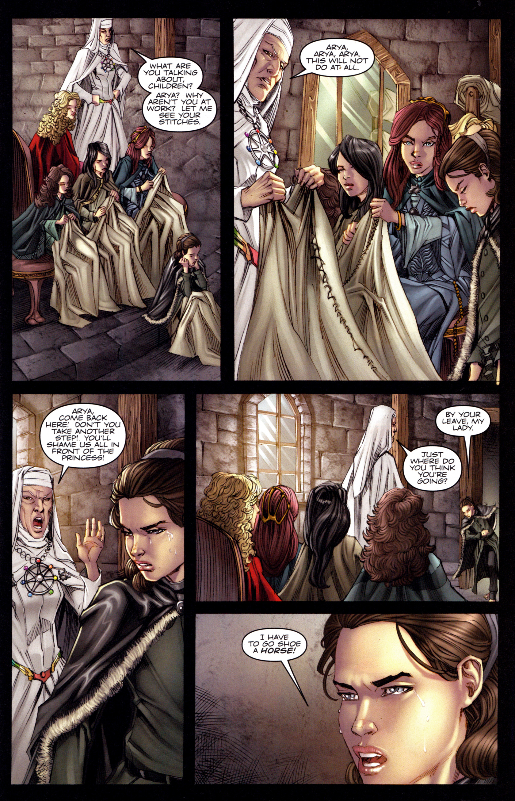 Read online A Game Of Thrones comic -  Issue #3 - 5