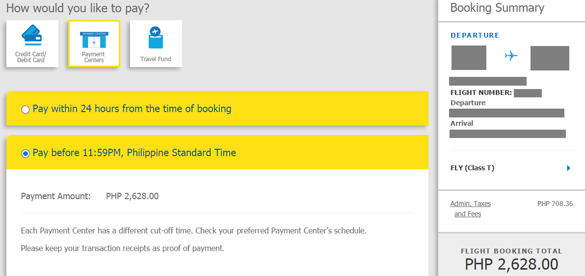 The Joyous Soul: How to pay air ticket to Cebu Pacific Air