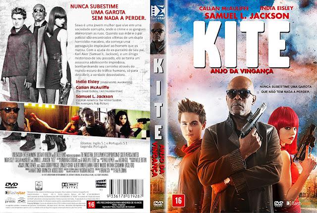 Capa DVD Kite Anjo Da Vingança