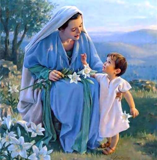 Consagracion Del Joven A La Virgen