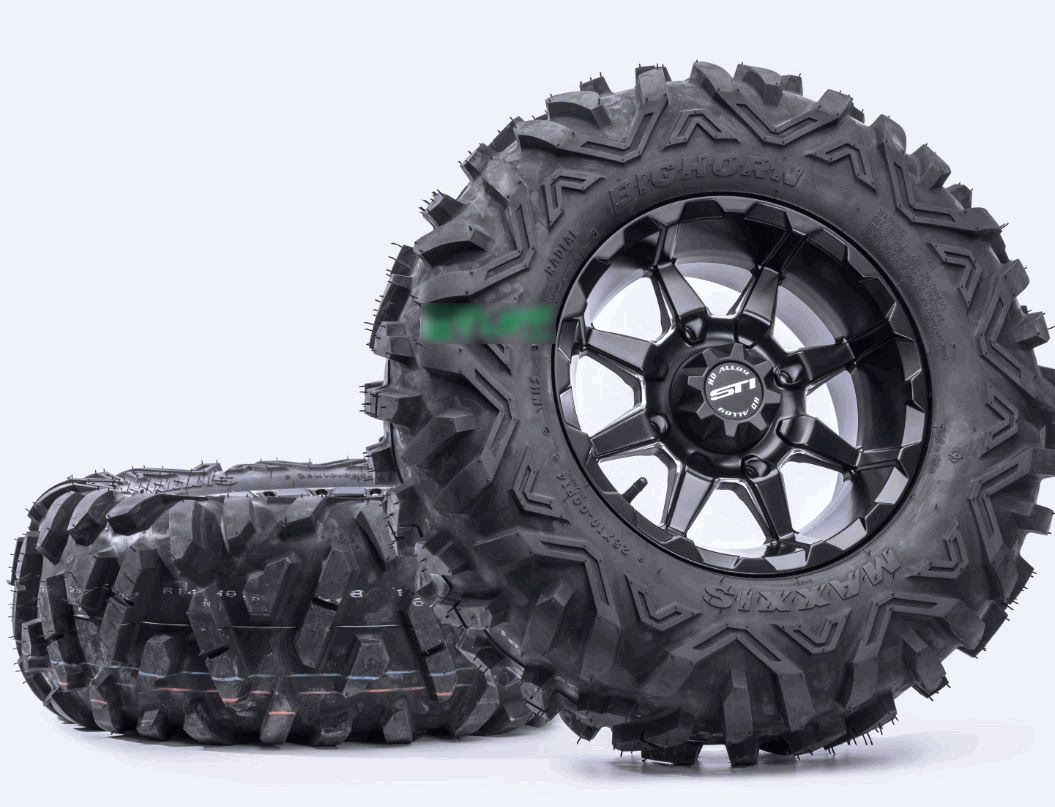 Sask Trail Riders: Maxxis Bighorn vs Maxxis Zillas - Tire Review
