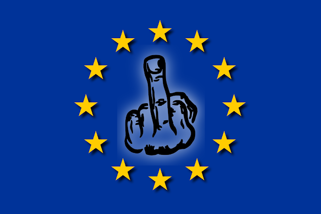 F_ck U EU, F_ck U all of U!