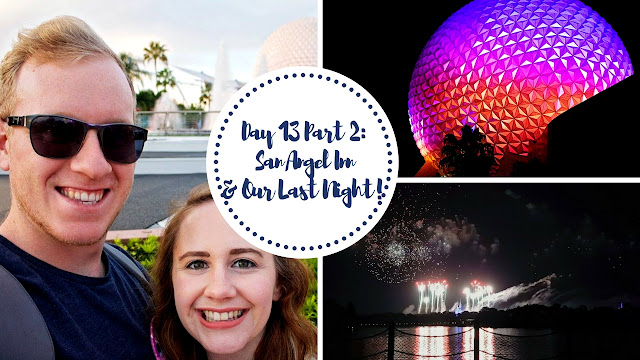 Dinner at San Angel Inn and Nighttime at Walt Disney World