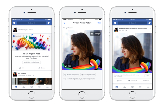 Rainbow Reaction Facebook images