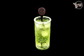 coctel verde azteca barmaninred