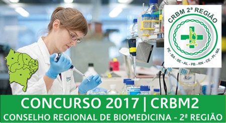 Concurso CRBM 2ª região 2017