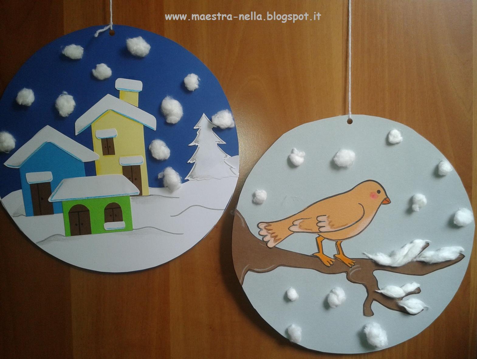 Maestra nella addobbi invernali for Addobbi aula natale