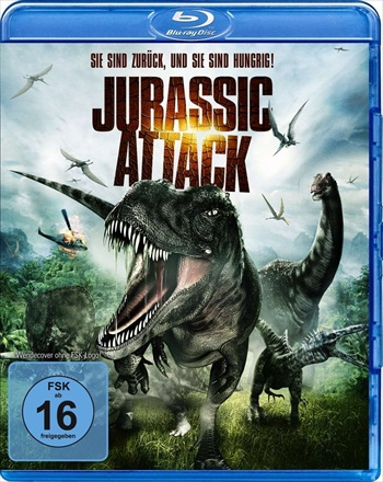 Jurassic Attack 2013 Dual Audio Hindi Bluray Movie Download