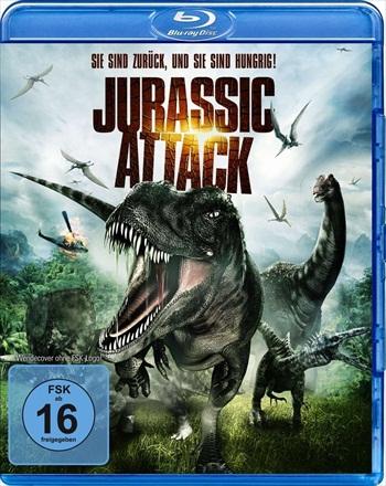 Jurassic Attack 2013 Dual Audio Hindi 720p BluRay 900mb