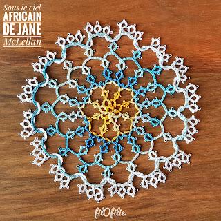 Sous le Ciel Africain de Jane McLellan / rang 1 à 5