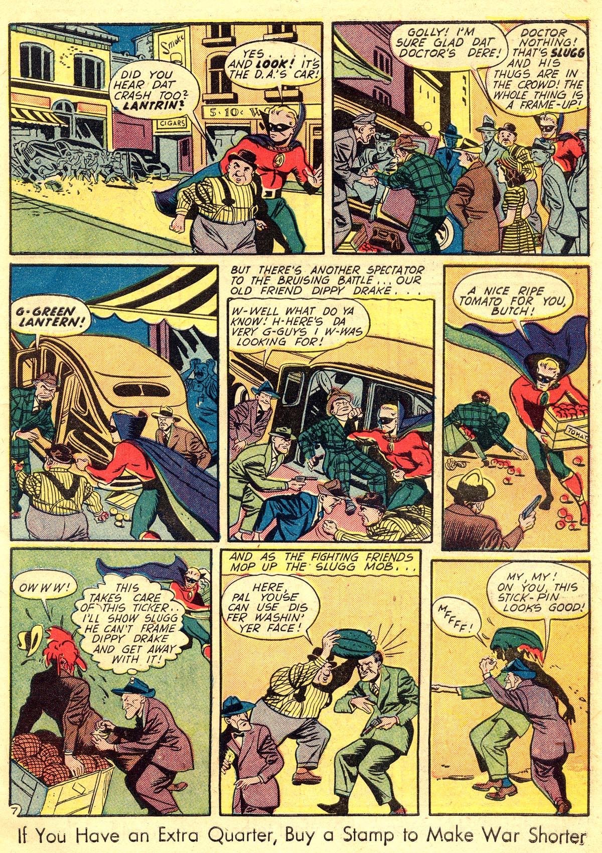 Read online All-American Comics (1939) comic -  Issue #60 - 9