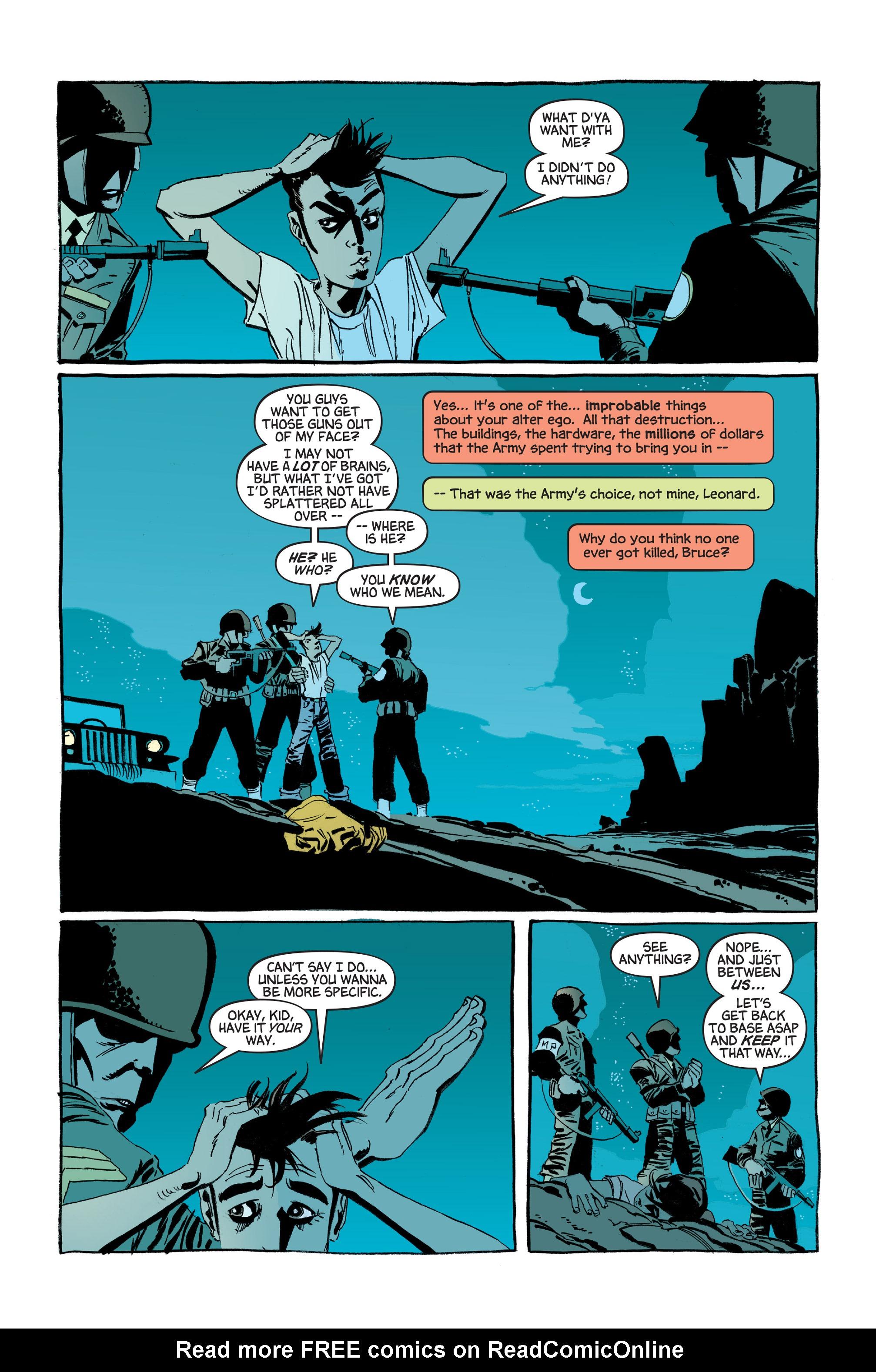 Read online Hulk: Gray comic -  Issue #3 - 10