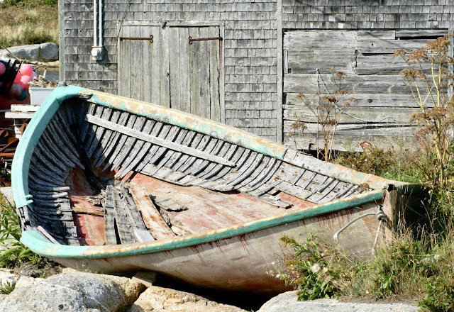 rustic old boat