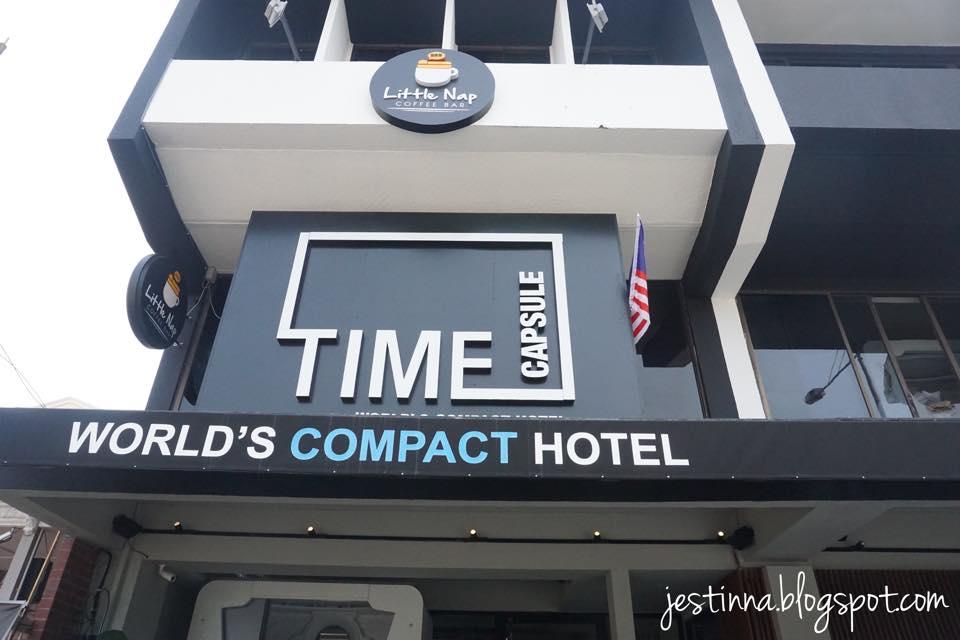 Jestinna S Time Capsule Hotel Penang