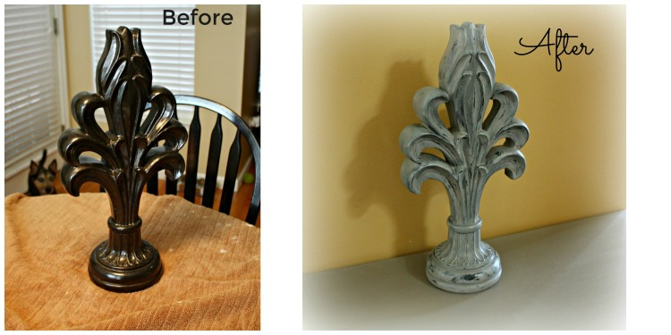 Before and After chalk paint transformation