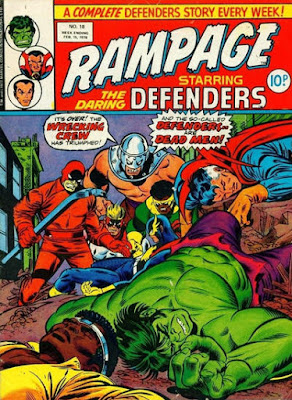 Rampage #18, Defenders vs the Wrecking Crew