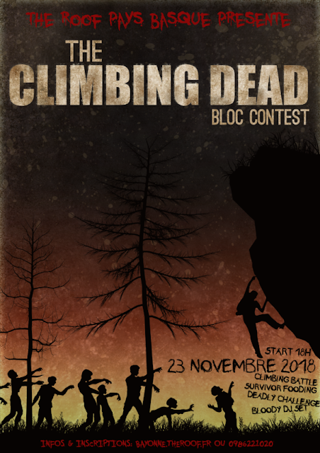 THE CLIMBING DEAD Escalade CONTEST Bayonne 2018