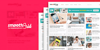 smooth grid blogger template responsive fast loading