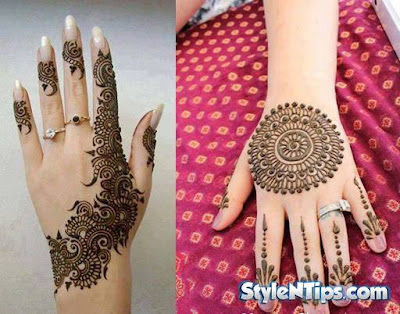 Beautiful Pakistani Eid Mehndi New Style Designs And Eid Mehndi New Style Designs Images 2017