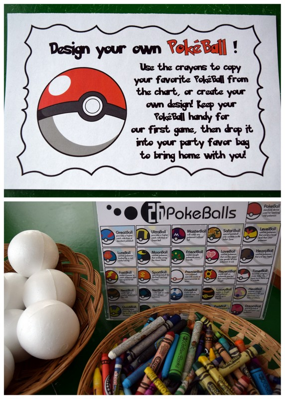 Mom\u0027s Tot School Pokémon Birthday Party!