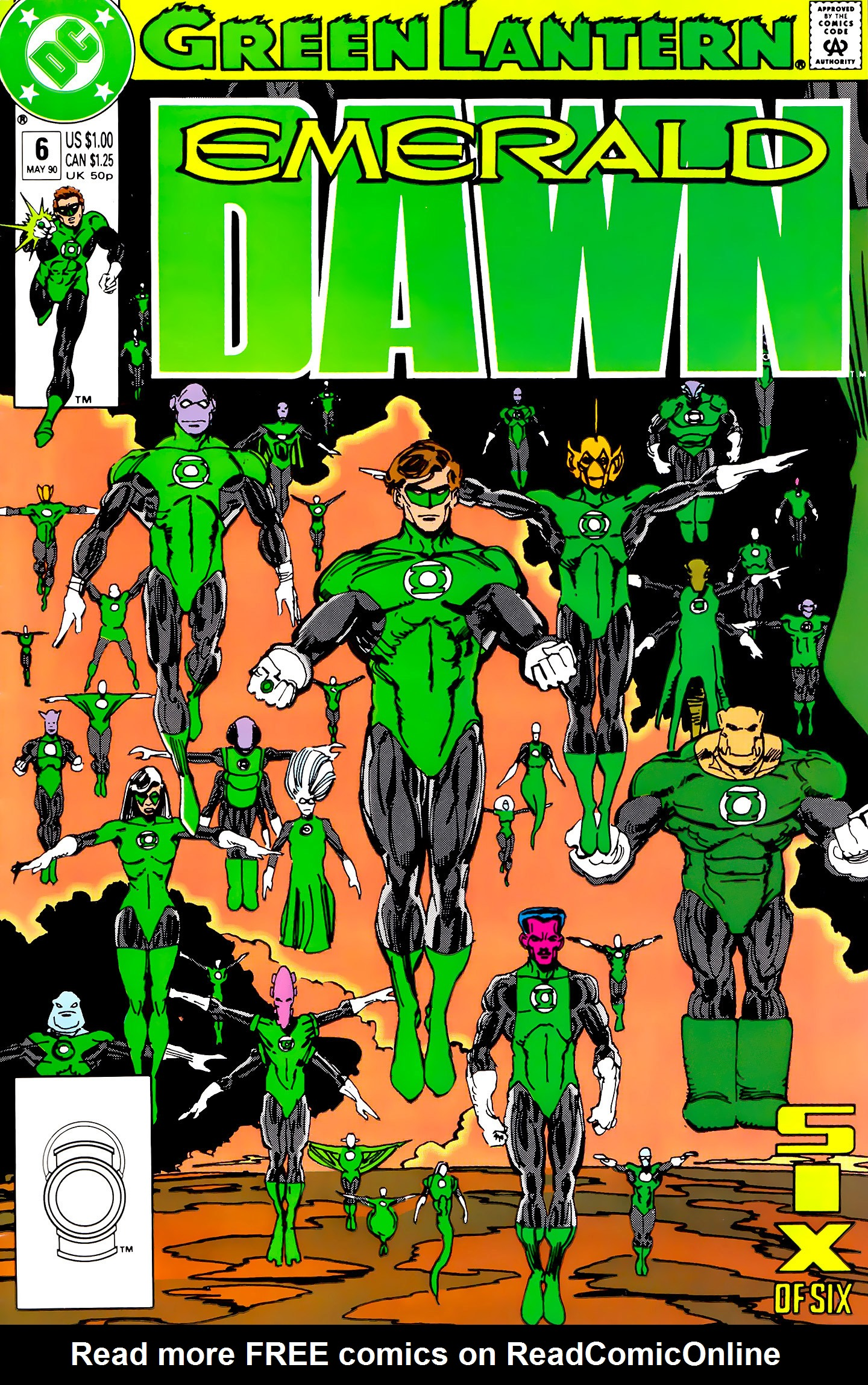 Green Lantern: Emerald Dawn 6 Page 1