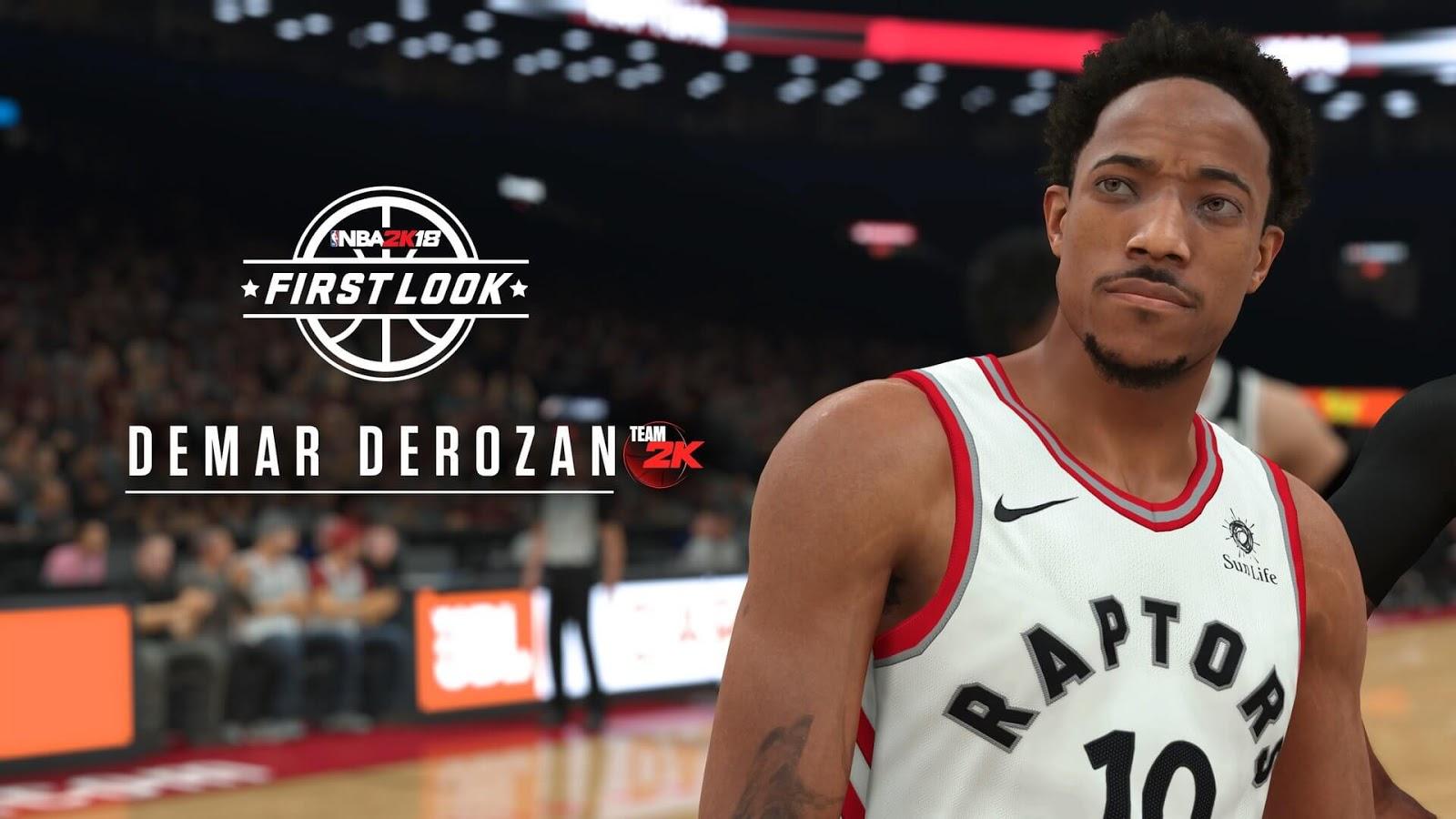 NBA 2k18 DeMar DeRozan Screenshot