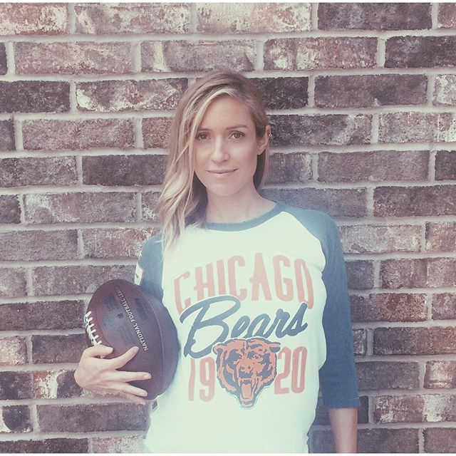 Kristin Cavallari in Chicago Bears Top