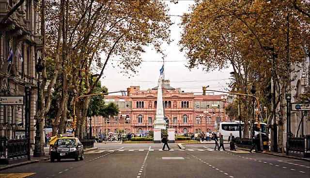 Buenos Aires em abril