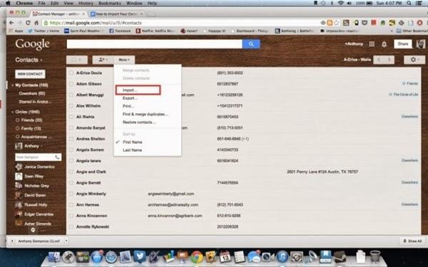 8 cach nhanh chong de nhap danh ba tu iphone sang gmail Chuyển hết danh bạ từ iphone sang gmail