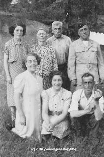 Olivier and Elizabeth Vanasse and their children
