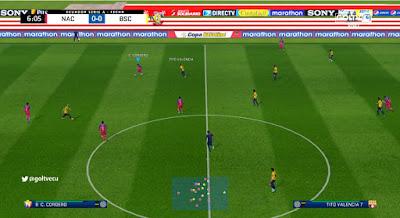 PES 2017 Scoreboard Liga Pro Ecuador 2018 by JAS