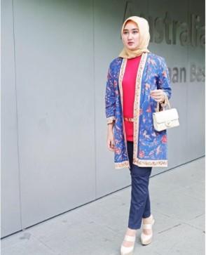 Model Baju Gamis Dian Pelangi 2019 Model Gamis 2019