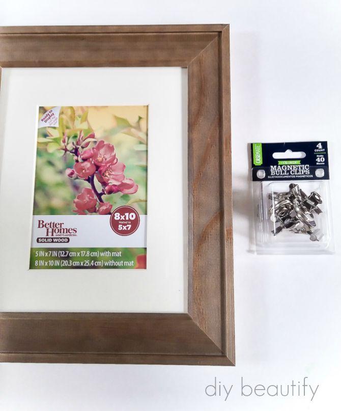 DIY Photo Clip Frame Gift Idea | DIY beautify