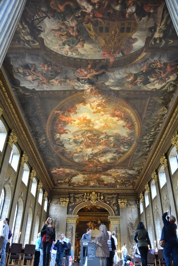 Painted Hall Greenwich ceiling