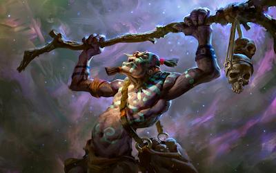Đội hình Troll-Warlock cho khả năng sát thương và hút máu rất chi là kinh dị ở thời đoạn sau của ải chơi