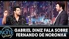 Gabriel Diniz fala sobre Fernando de Noronha no The Noite