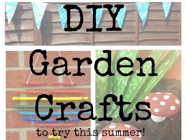 DIY Garden Crafts {Tutorial}