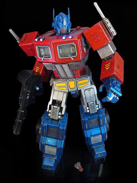 custom made optimus prime