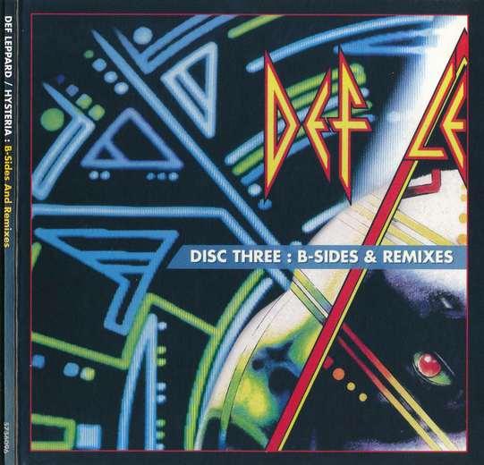 DEF LEPPARD - Hysteria [5CD Box Set] Disc 3 B-Sides & Remixes (2017) full