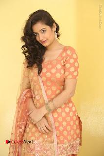 Telugu Actress Santoshi Sharma Latest Stills in Salwar Kameez at HBD Movie Teaser Launch  0029.JPG